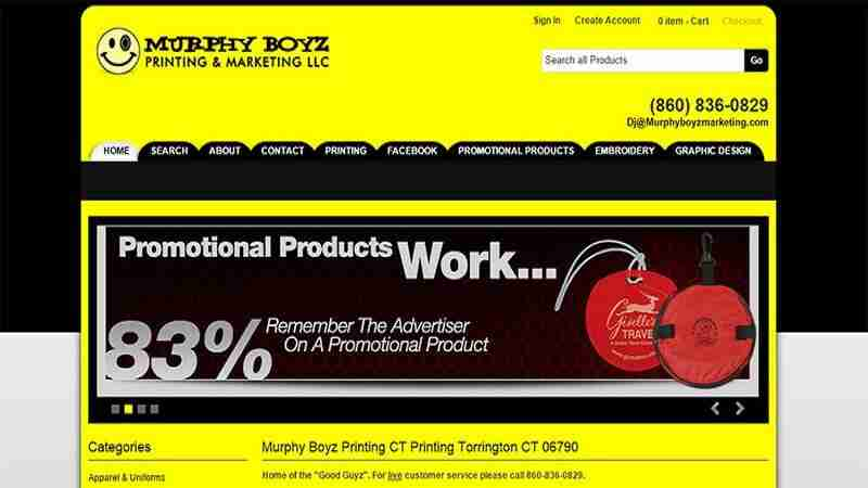 MurphyBoyz Printing Torrington CT